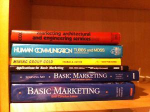 6 Marketing Textbooks