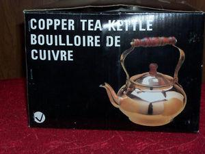 Copper Tea Kettle New