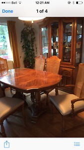 Dining Room Set(Table, Chairs, Cabinet)