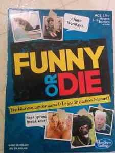 Hasbro Funny or Die game in Excellent Condition