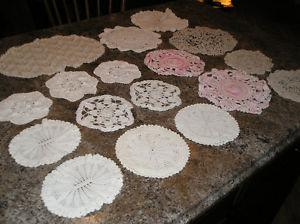 Large Lot of Doilies