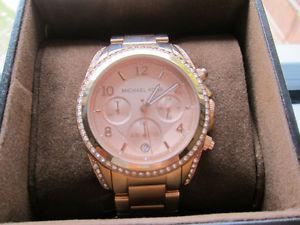 Michael Kors Blair Rose Gold Watch