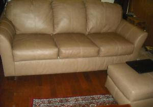 SOFA, CHAIR AND OTTOMAN
