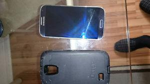 Samsung S4 for sale with Telus with outer box....