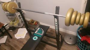 Weight bench in great condition