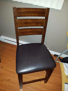 2 pub style chairs good condition