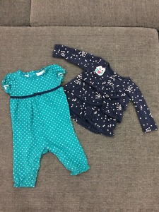 Baby Girl Clothes. 3-6 Months