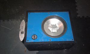 Boom box with amp