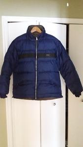 Helly Hansen duck down reversible jacket