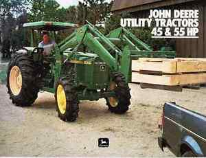 JD Utility Tractor  HP Sales Brochure - Reduced 25% +