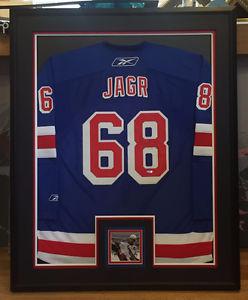 Jaromir Jagr Signed Rangers jersey