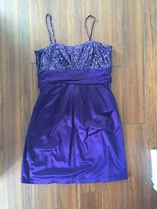 Ladies Purple dress size Large