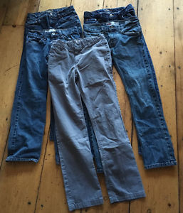 Large lot boys size 14. Lots of Brand names