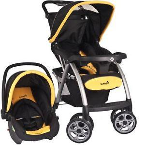 Safety first stroller and car seat