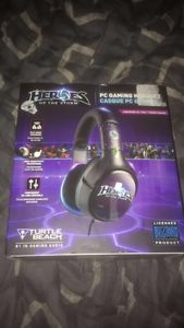 Selling new Turtle Beaches Heroes of the storm headset