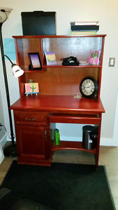 Solid wood desk for sale