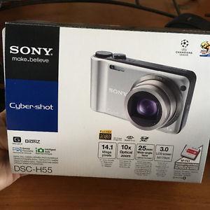 Sony Cyber-Shot DSC-H55 digital camera