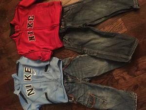 Toddler boy clothes 2T good for twins. Brand name.