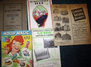 Wanted: WE BUY OLD MAGAZINES NEWSPAPERS POSTCARDS BOOKS