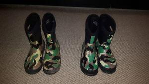 Youth Boys insulated rubber boots
