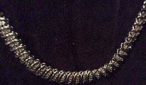 10 K Gold Necklace With Diamonds!