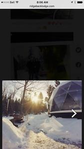 2 night stay in Dream Dome