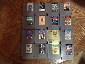 64 nes games up for trade or for sale