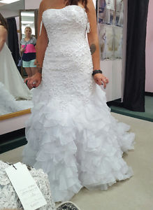 Beautiful Wedding Dress (only worn to try on)