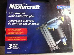 Brad nailer 2 in 1 mastercraft