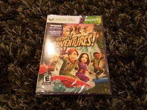 Brand new in wrapper Kinect Adventures for xbox 360