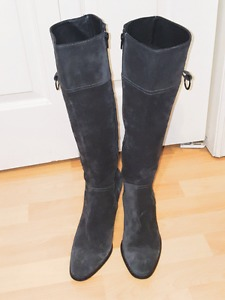 Browns Couture Wild Leather Boots Size 9