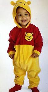 DISNEY Winnie the Pooh onesie fits up to 9 months old