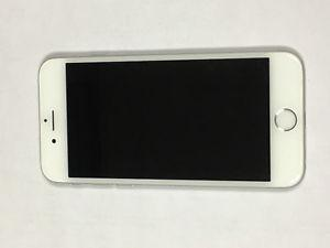 Good Condition White/Silver iPhone 6-16gb Locked to