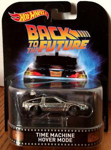 Hot Wheels Retro Entertainment Back to The Future 2 Delorean