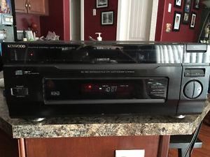 Ken wood 100 disk CD player Sony house speakers 150watts