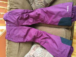 Ladies Columbia ski pants, size L