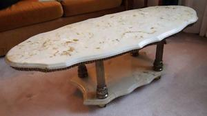 Marble Top Coffee/End Tables
