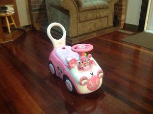 Minnie Mouse Toddler Car