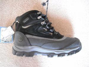NEW Khombu men's Winter Boots (black) *size 9, 10, or 11