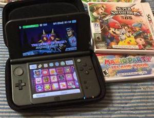 *New* 3DS XL with 3 Games and DLC Games added wow wii