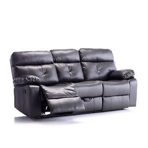 New Rosanna relclining couch with pull out drawer