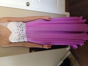 Purple Grad Dress For Sale