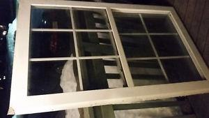 Selling an old window good for a camp
