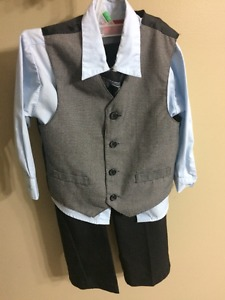 Very cute shirt,vest, pants and tie
