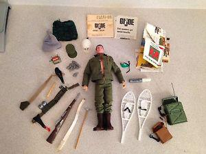 "Vintage "" GI JOE With A Bunch Of Gear"