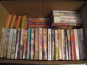 Zane Grey Paper Back Books