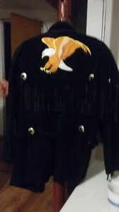 very nice native suede jacket