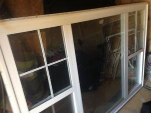 """85""""x57.5"""" VINYL WINDOW, 2 SLIDES IN HALIFAX"""