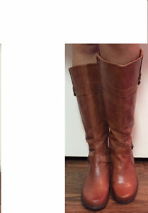BRAND NEW BROWN BOOTS BY '' ANNE KLEIN '' IFLEX FOR SALE