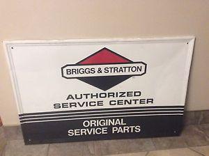 Briggs and Stratton sign